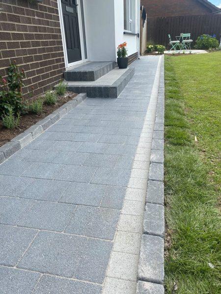 Sienna graphite path