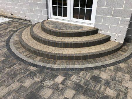steps - shannon slate, tegula natural steps