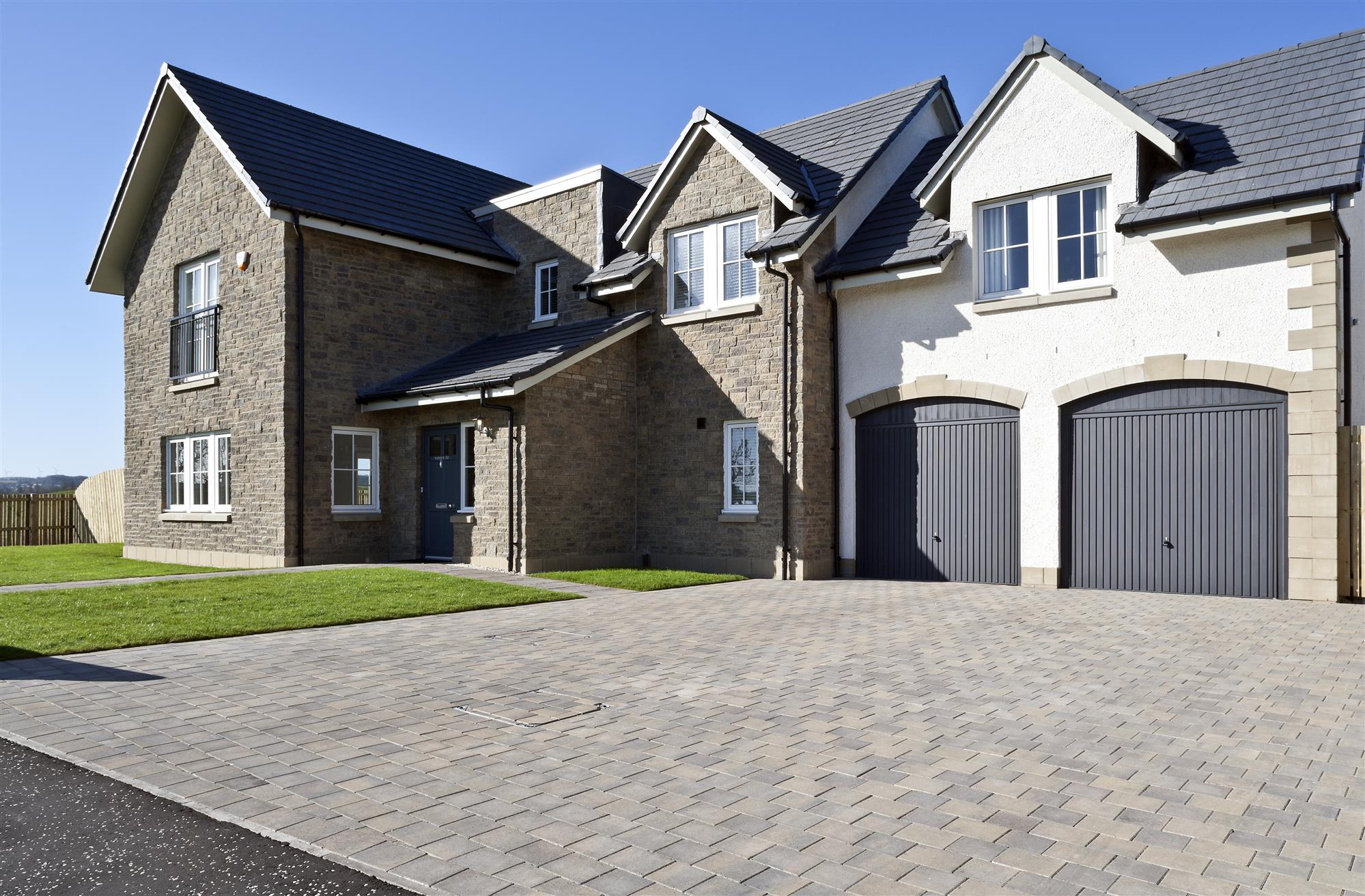 Tobermore Hydropave Shannon Duo with County Stone Bracken