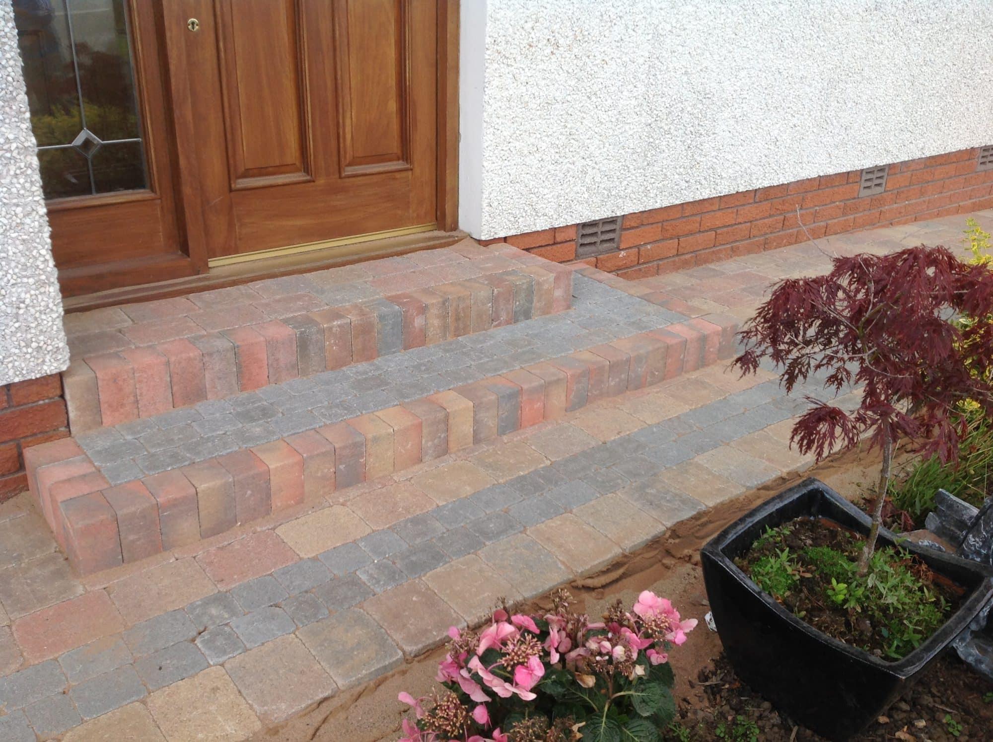 Brick Driveway Edging