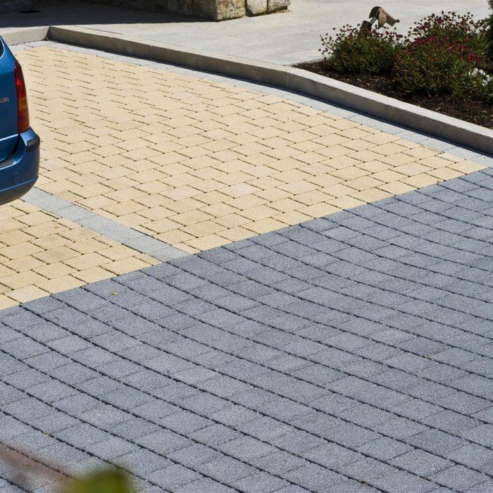 tobermore dalkey avenue hydropave sienna duo graphite sandstone sienna silver country kerb granite