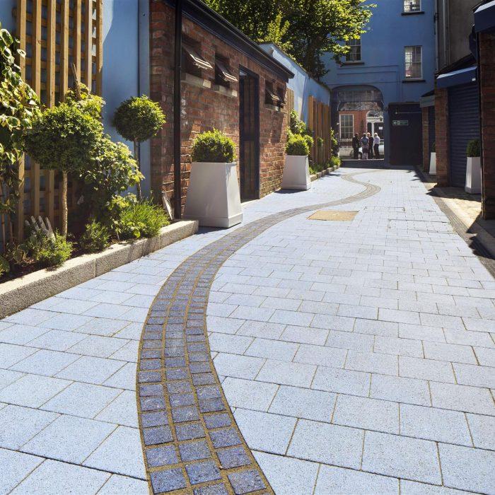 tobermore fusion azure blue city centre garden of reflection lderry