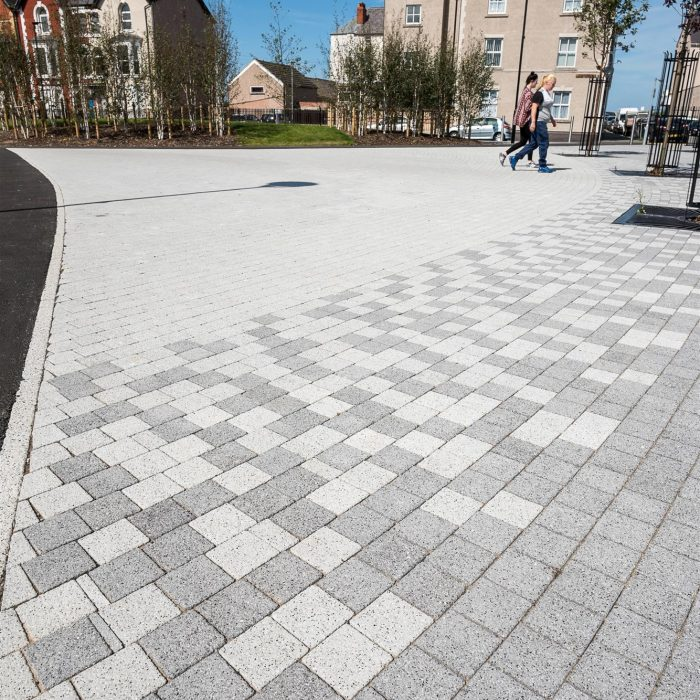 tobermore fusion silver mid grey graphite west rhyl green space