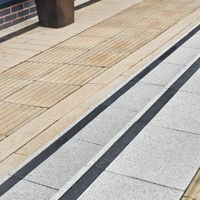 tobermore manhattan sandstone mayfair step flags silver with delineation park regis hotel birmingham