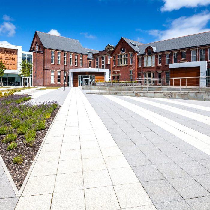 tobermore mayfair flags silver graphite ebbw vale college square