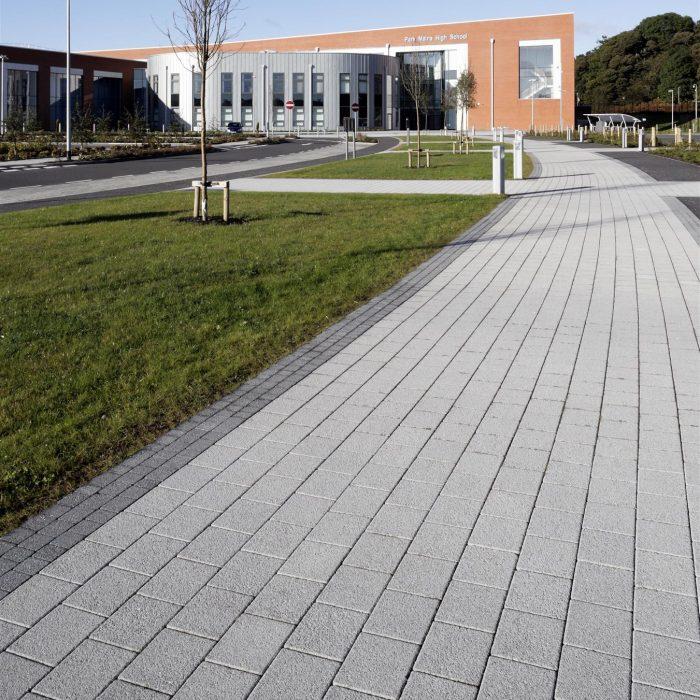 tobermore sienna silver sienna setts graphite park mains high school renfrewshire