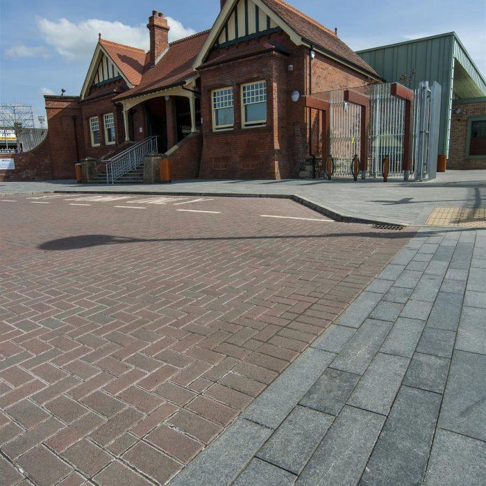 tobermore pedesta brindle antrim bus and rail station