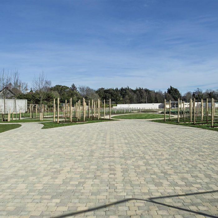 tobermore tegula cedar bracken tegula setts bracken airfield house dundrum
