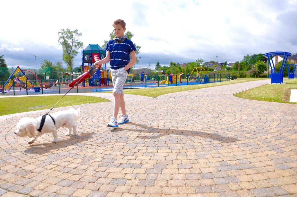 tobermore tegula setts bracken tegula circle bracken megaw park ballymoney